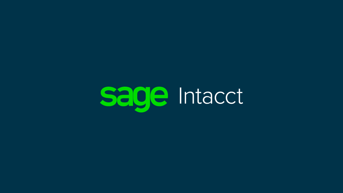 Sage Intacct, Brought to you by Bangert, Inc.